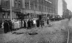 Место убийства Плеве, 15 июня 1904 года