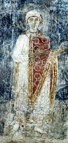 Анна на фреске Собора  Святой Софии