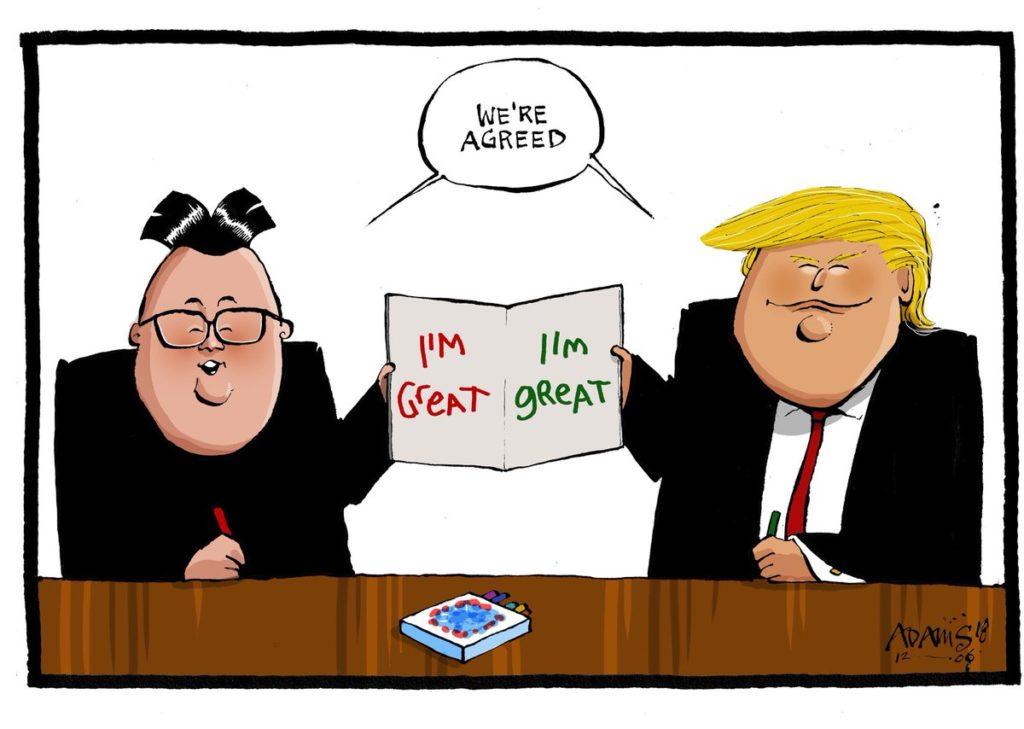 Kim & Trump